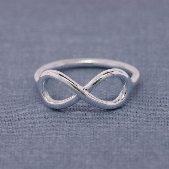 Silver Infinity Rings Infinity Jewelry Modern by CraigDabler