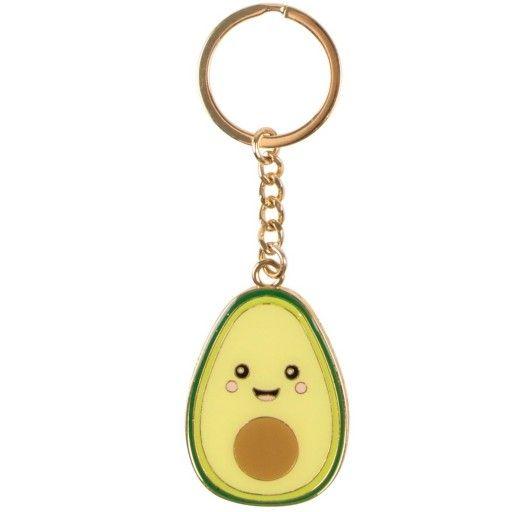 sleutelhanger avocado kawaii in 2020 sleutelhanger