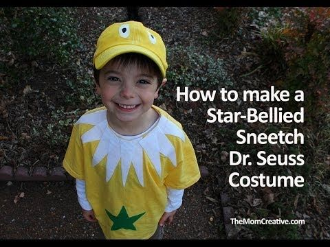 Tutorial: No-Sew Star-Bellied Sneetch Dr. Seuss Costume — The Mom Creative