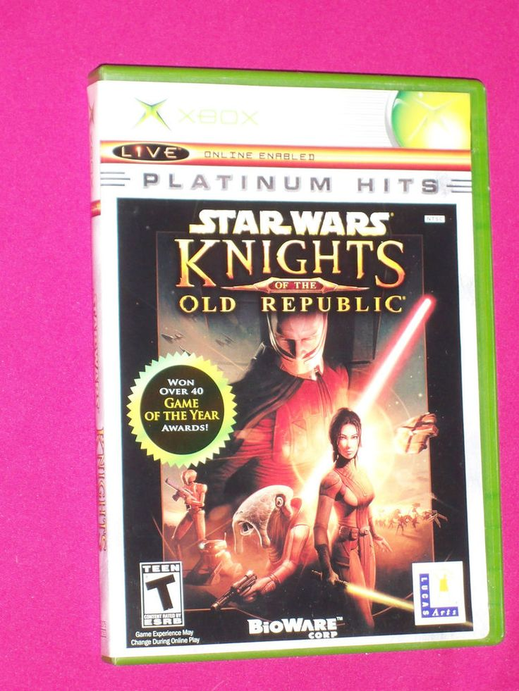 Star Wars Knights of the Old Republic 1 - Complete Xbox Game Xbox original 2005 | eBay