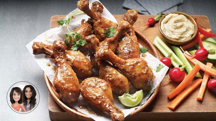 Essayez cette recette de pilons de poulet au miel et à la moutarde à la mijoteuse d'Alexandra Diaz et de Geneviève O'Gleman
