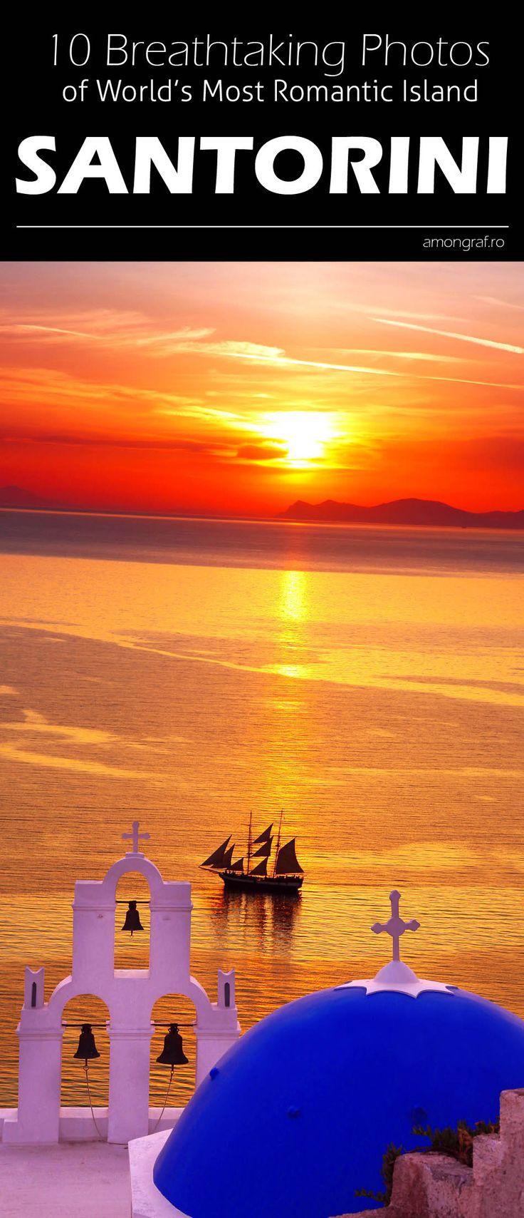 10 Breathtaking Photos of World's Most Romantic Island, Santorini