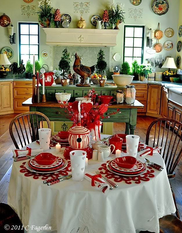 valentine 39 s day tablescape table settings pinterest round tables