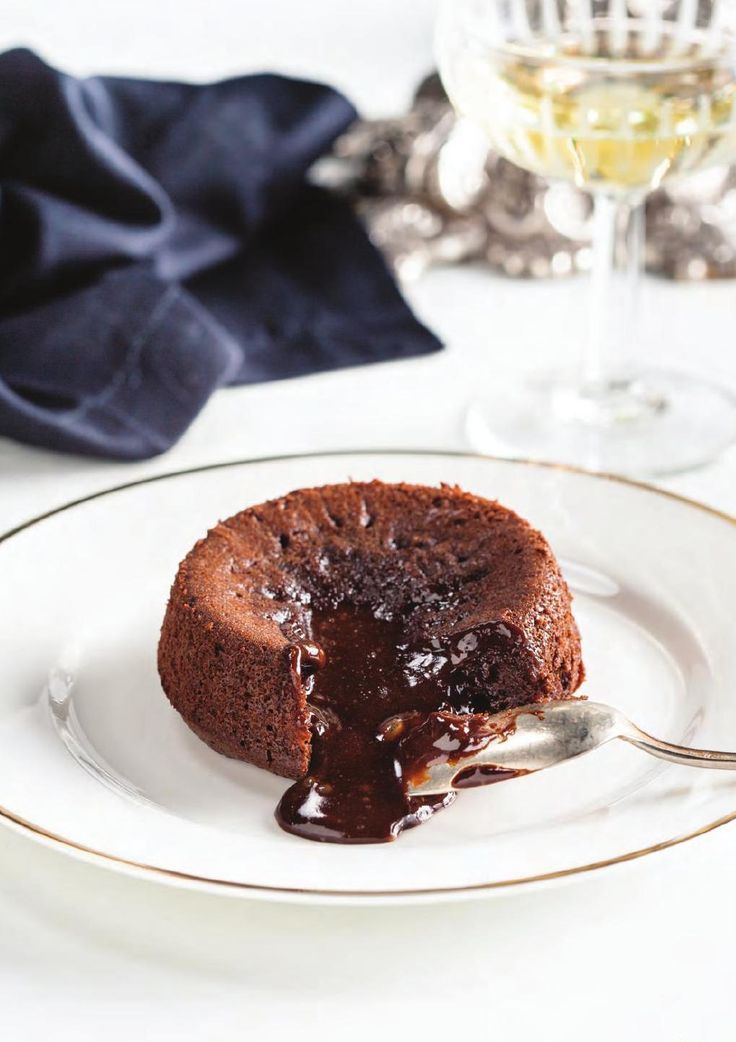 molten chocolate cake #ClippedOnIssuu from Believe Issue 25