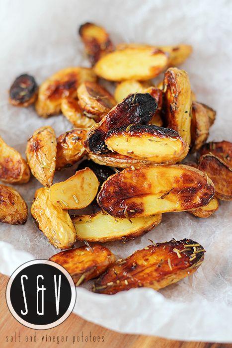 Salt and Vinegar Potatoes - - Simply Filling! - -