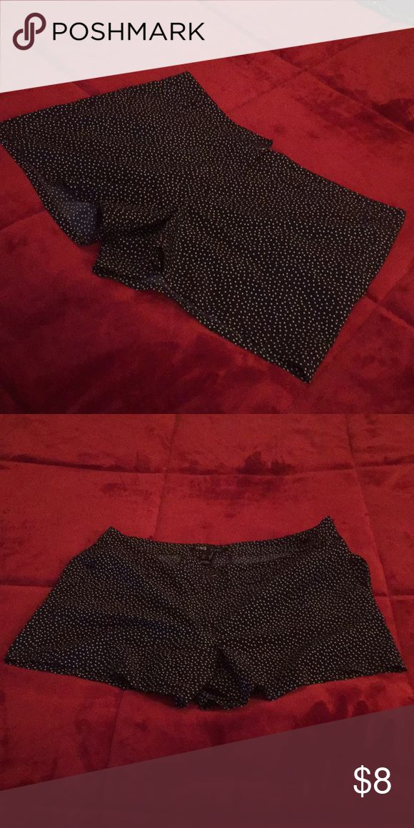 Blue and white polka dot shorts! Barley used. Almost new! Perfect for a summer day. Comes from a smoke free home :) Mango Shorts