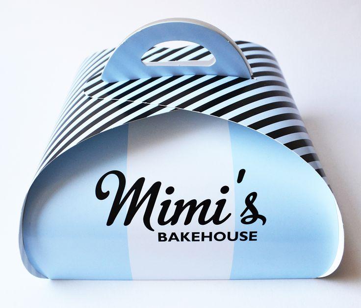 Packaging for Mimi's Bakehouse, an award-winning bakery based in Edinburgh.
