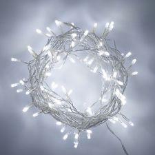 20 White LED Bulb fairy light battery power wedding table centrepiece 2 metre
