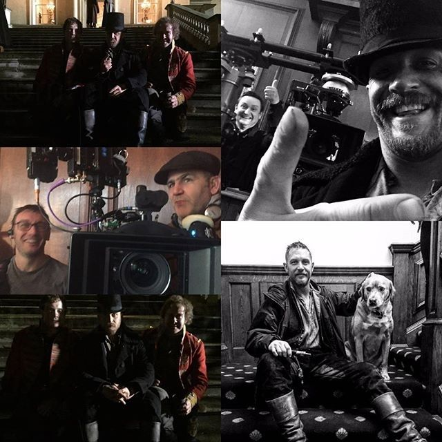 😍😍😍 regram @tomhardydotorg Taboo -behind the scenes REMINDER: Taboo premieres in the US, Jan 10th on FX at 10/9c, in the UK ,Jan 7th, on HBO Nordic and HBO Espana on Jan 7th. For all other markets,we will update as we have confirmed information #TomHardy #Taboo #Woody #UK5moresleeps #US8moresleeps