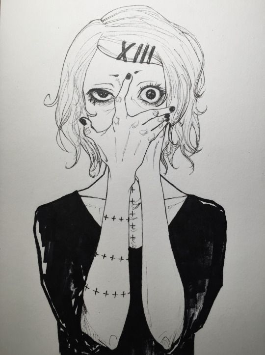Awesome fanart of Juuzou from Tokyo Ghoul √A