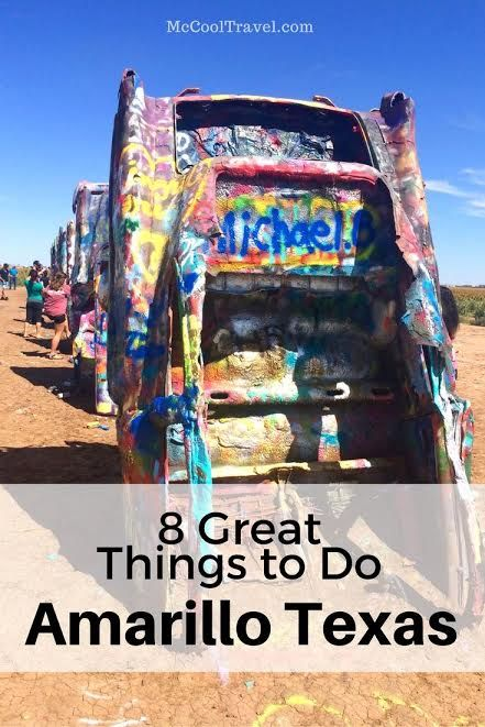 Some great things to do in Amarillo Texas include visiting Palo Duro Canyon, historic route 66, Cadillac Ranch, RV museum.