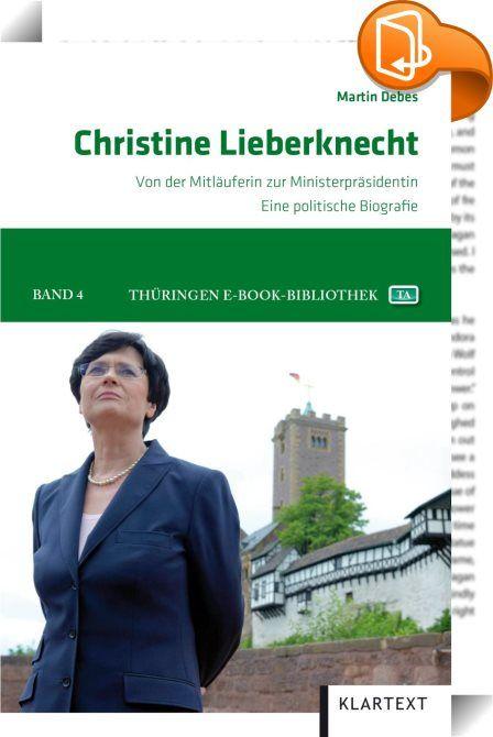 Christine Lieberknecht    ::  Etwa ein Vierteljahrhundert ist es her, dass die Dorfpastorin Christine Lieberknecht mit den Umwälzungen in der DDR in die Politik geriet. Aus der früheren FDJ-Sekretärin und dem Mitglied der Blockpartei CDU wurde binnen weniger Wochen eine Vorzeigereformerin und Landesministerin. Machte und stürzte sie am Anfang ihrer Karriere Ministerpräsidenten, diente sie später lange Jahre im Kabinett oder als Parlaments- und Fraktionschefin mehreren Regierungschefs, ...