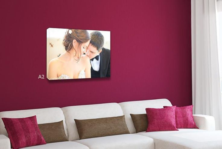 I just bought A2 Personalised Canvas (now £9) via @wowcher