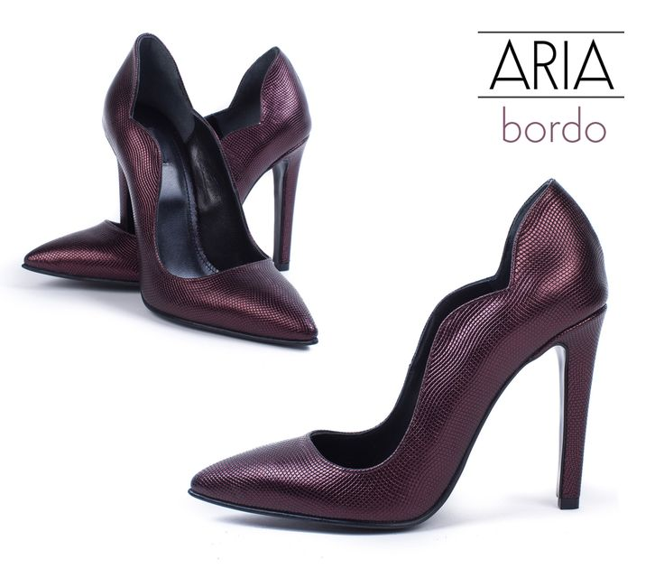 The Pearled Bordo Aria Shoes are exquisite @joyasromania