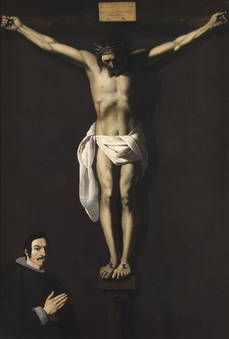 Author Zurbarán, Francisco de (Spanish) Title Christ Crucified, with the Sponsor Chronology 1640 Technique Óleo Support Lienzo