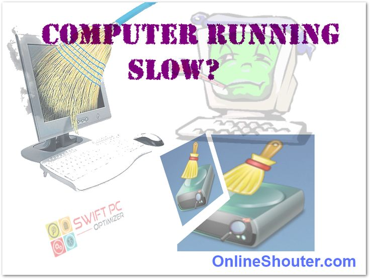 how to clean a slow pc