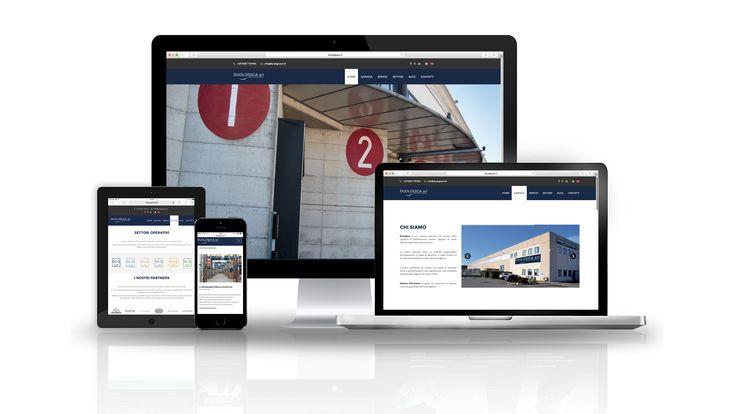 Designed the website for Duologica Srl - Logistica & Distribuzione | www.duologicasrl.it  #TagCommunicationWork #Branding #MarketingStrategies #PhotoShooting #GraphicDesign #WebDesign #SEO #SocialMediaManager