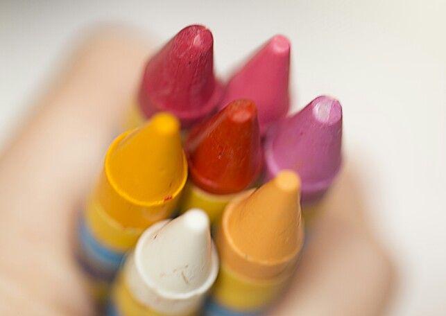 #colors#crayons#macro#