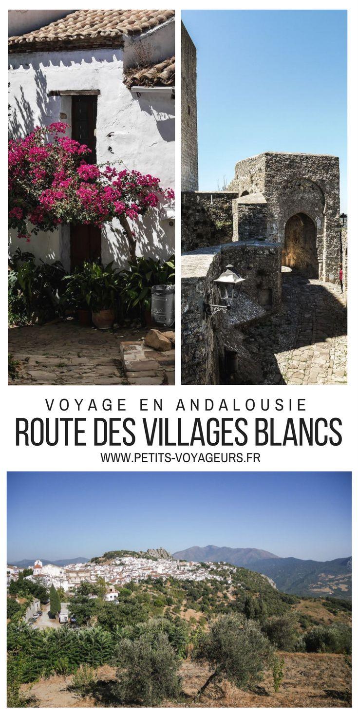 ITINERAIRE : suivez-moi sur l'autre route des villages blancs d'Andalousie. Un voyage de 300 dans le sud de l'Espagne entre Ronda, Tarifa et Cadix...