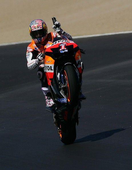 Nicky Hayden Photo - Red Bull U.S. Grand Prix Qualifying