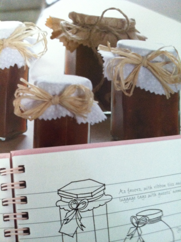The natural wedding DIY jams page 115