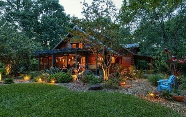 18 best images about landscaping ideas on pinterest for Texas cabins in the woods