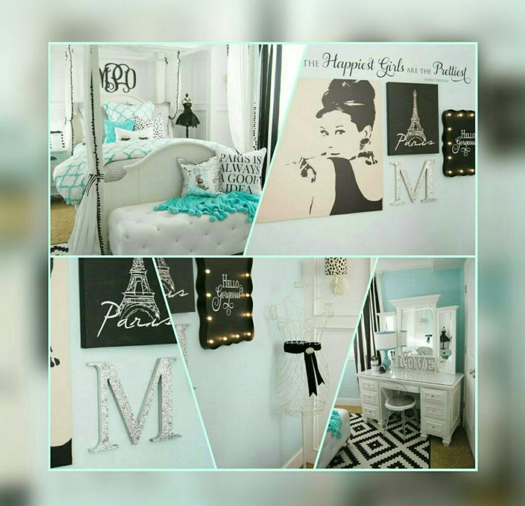17 Best Ideas About Tiffany Inspired Bedroom On Pinterest