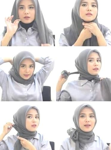 Tutorial Hijab Segi Empat Ala Laudya Chintya Bella Ragam Muslim Hijab Tutorial Pashmina Hijab Tutorial Tutorial Hijab Modern