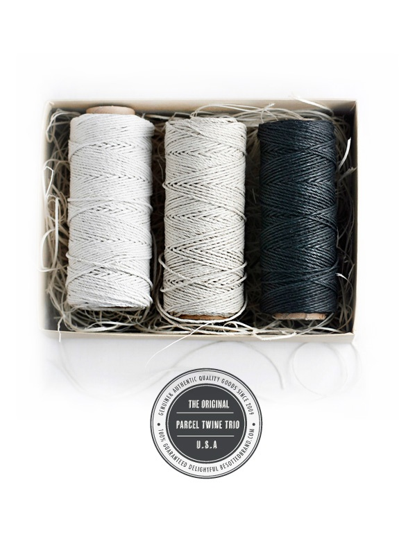 parcel twine: Ideas, Craft, Twine Trio, Products, Black, Wrapping, Parcel Twine