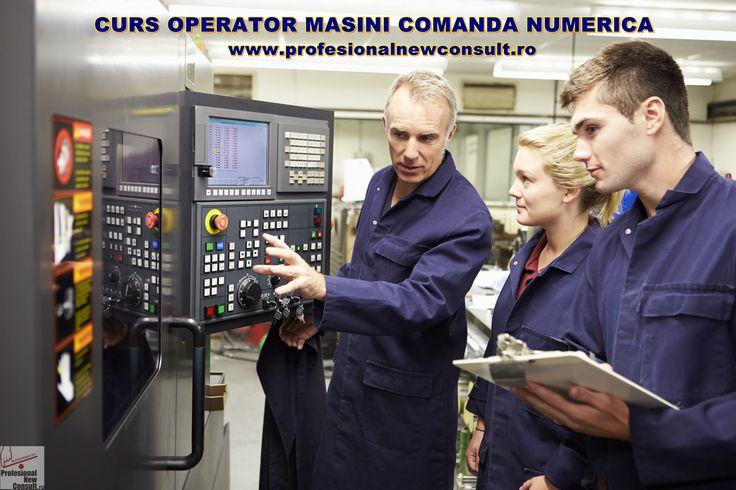 Curs Operator CNC - detalii pe site http://www.profesionalnewconsult.ro/cursuri-autorizate/cursuri-tehnice-meserii/curs-operator-masini-cu-comanda-numerica