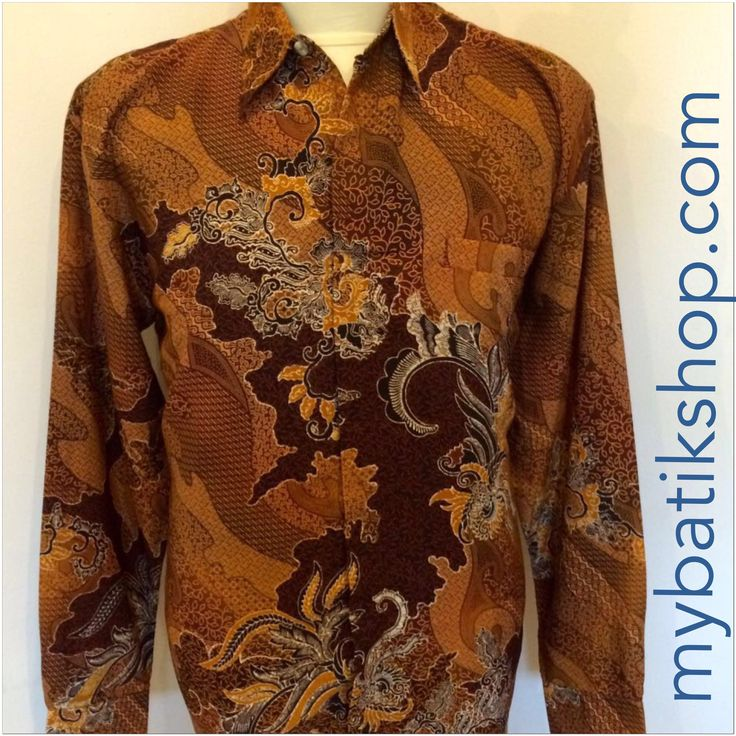 Batik for Men - Arjuna Long Sleeve Size XL
