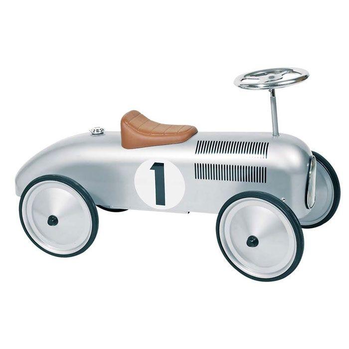 Gåbil Racing Speedster Silver