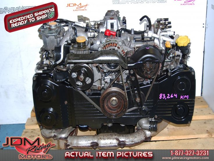 JDM Subaru Impreza WRX 2002-2005 EJ205 Quad Cam Turbo Engine.  Find this engine only on our website: https://www.jdmracingmotors.com/engine_details/1950  Tags #Subaru #EJ20 #EJ205 #WRX #Impreza #Turbo #Engine #Motor #DOHC #JDM #jdmracingmotors