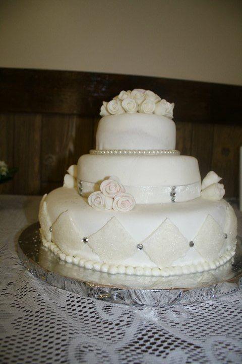60 anniversary cake