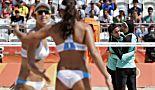 JO 2016: au Brésil, le beach-volley fait recette