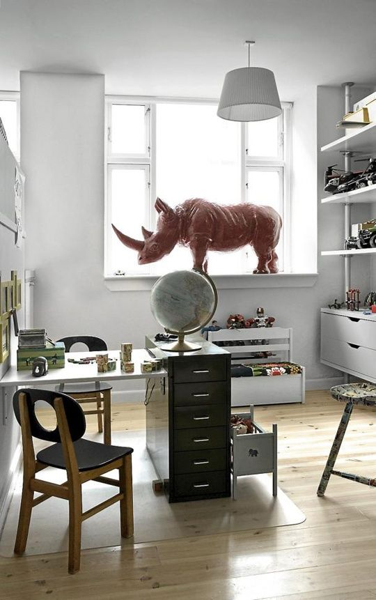 Giant, awesome rhino. mommo design