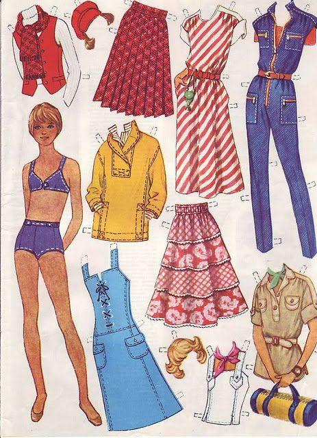 """Журнал """"Работница"""" поистине преподнес  нам  подарок))) Бумажные куклы тогда были жутко популярны Soviet Union Journal Rabotnitsa (Working Woman)"""