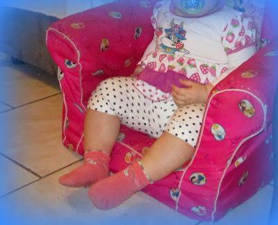 Fleur et Lumière: Violette a récupéré le fauteuil Princesses de Luci...