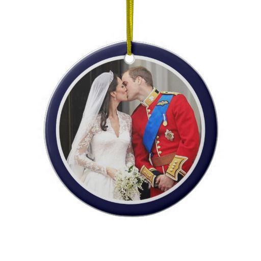 17 best images about will and kate christmas ornament on for Engagement christmas tree ornaments