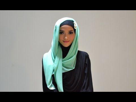 Hijab Tutorial Style 54 by Puteri Hasanah Karunia
