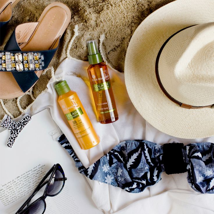 We mustn't forget to protect our skin this summer! Let's test the Invisible Spray for invisible protection or the Comfort Lotion for a moment of gentleness. #YRSummerEssentials