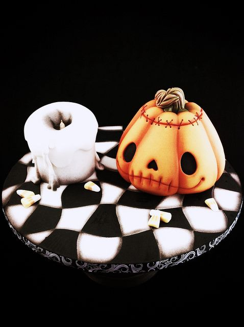 Jack'o'lantern cake class | Flickr - Photo Sharing!