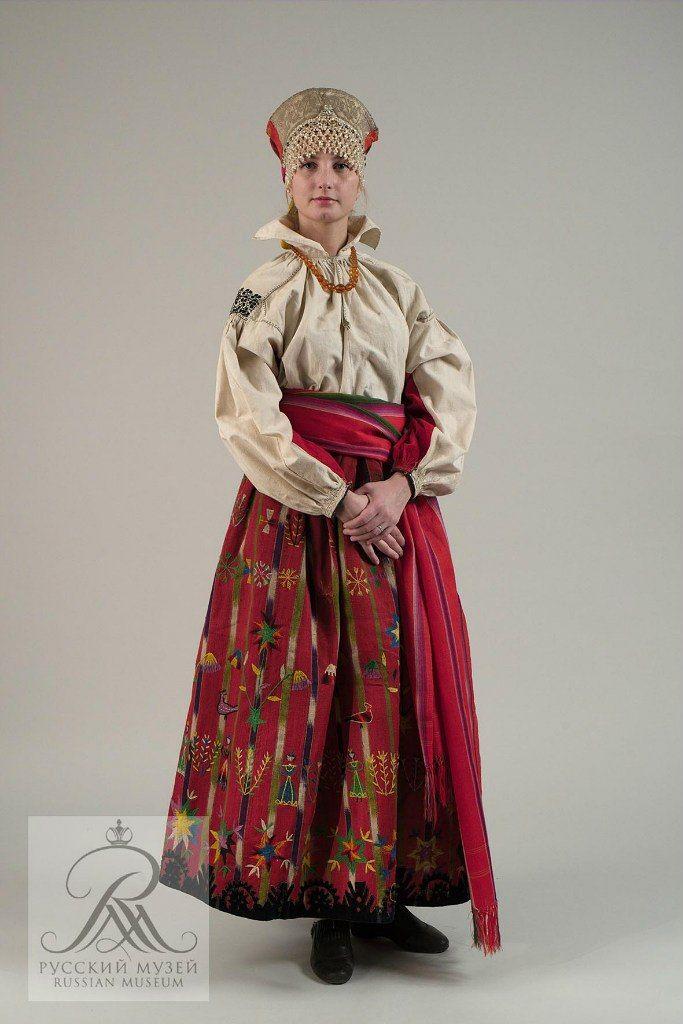 zbr0R2AoNNA.jpg (683×1024)Женский праздничный. Однодворческий костюм. ХIХ век. Тамбовская губерния.