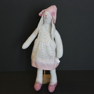 handmade cotton bunny