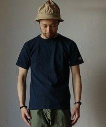 Champion | Champion チャンピオン T1011 US T-SHIRT Tシャツ NVY ネイビー MADE IN USA アメリカ製(Tシャツ・カットソー)