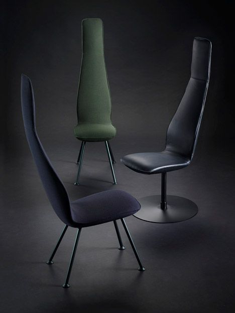 Blå Station's Poppe chair is just 33 centimetres wide