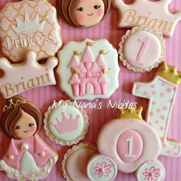 20+ Best Ideas About Princess Cookies On Pinterest