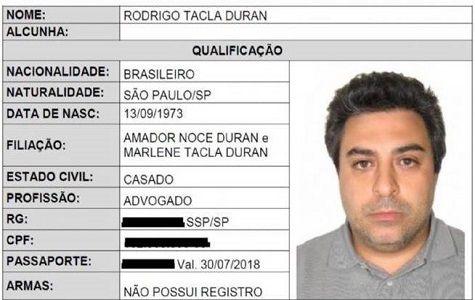 El detenido era abogado de la constructora Odebrecht y es sospechoso de lavar más de 15 millones de dólares de Petrobras