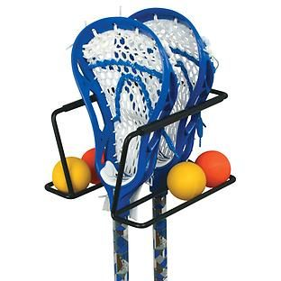 Racquet  Lacrosse Sports Rack available at The Container Store