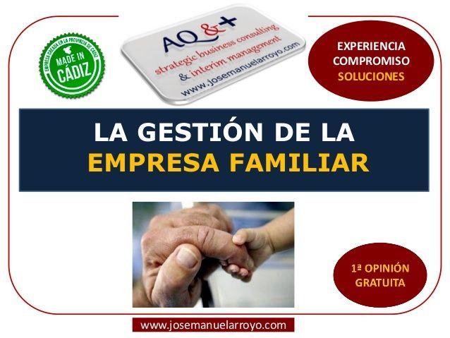 Gestión de la Empresa Familiar.